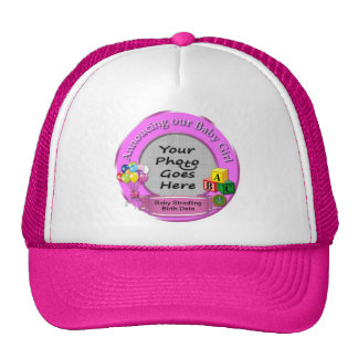 Announcing Our Baby Girl Truckers Hat