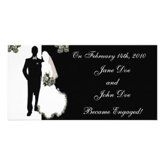 Announcing Our Engagement Cards Personalized Photo Card