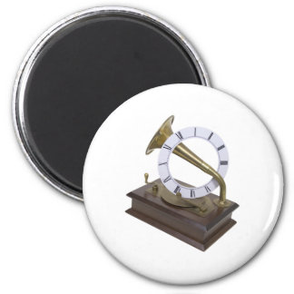 AnnouncingTime072709 2 Inch Round Magnet