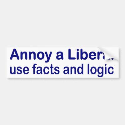 Annoy a liberal bumper sticker zazzle com