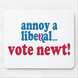 Annoy a Liberal Mouse Pad