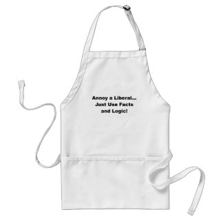 annoy a liberal.png adult apron