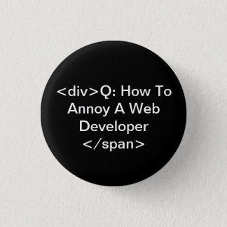 annoy a web developer pinback button