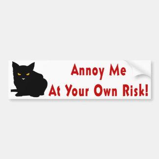 Annoy Me Bumper Sticker