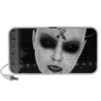 Annoyance Gothic Speaker doodle