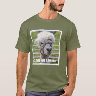 Annoyed Alpaca T-Shirt
