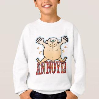 Annoyed Fat Man Sweatshirt