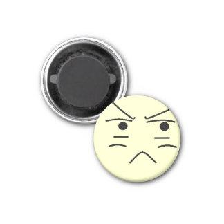 Annoyed Smiley Fridge Magnets