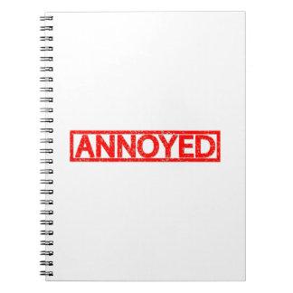 Annoyed Stamp Notebook