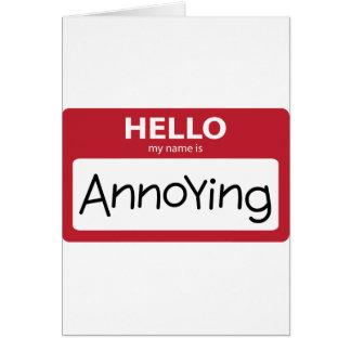 annoying 001 card