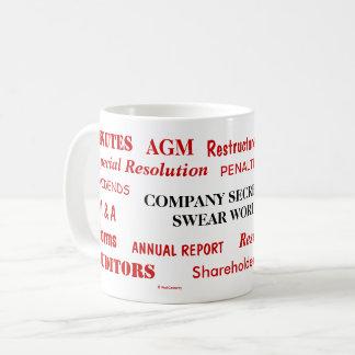 Annoying But Funny Company Secretary Swear Words Coffee Mug