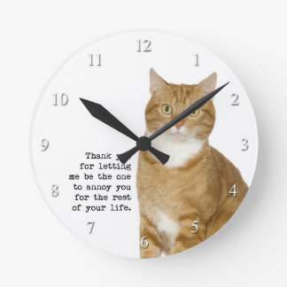 Annoying Cat Clock