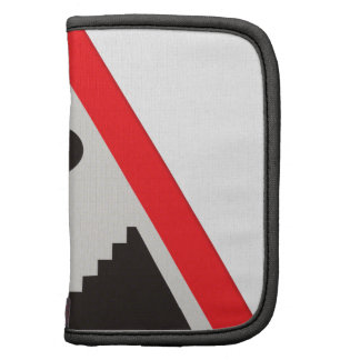 Annoying lack of disabled facilities road sign folio planners