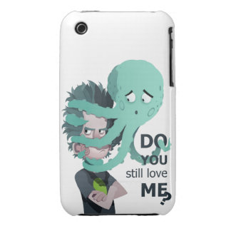 annoying octopus Case-Mate iPhone 3 case