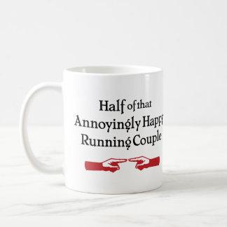 Annoying Running Couple Classic White Coffee Mug