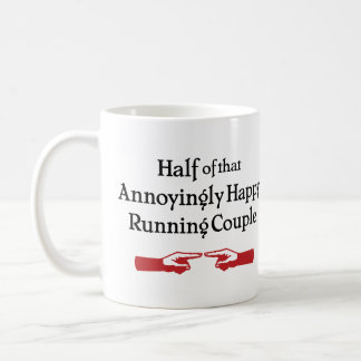 Annoying Running Couple Coffee Mug