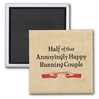 Annoying Running Couple Magnet