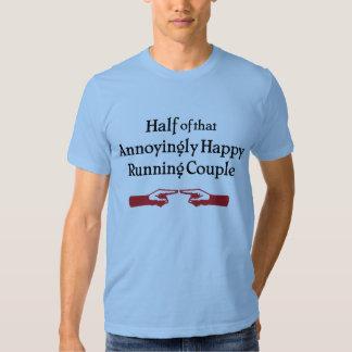 Annoying Running Couple Tee Shirt