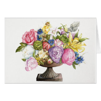 "Ann's Arrangement Greeting Card 7"" x 5"""