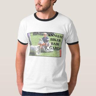 Annual Biker Babe Games T-shirt