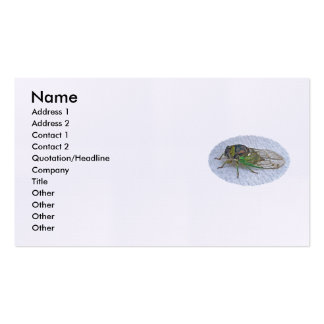 Annual Cicada Business Card