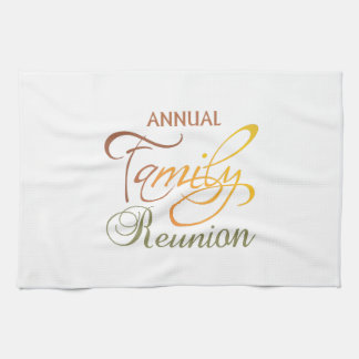 Annual Family Reunion Kitchen Towels