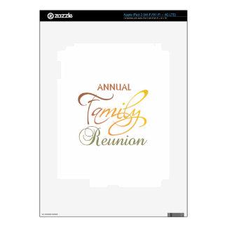 Annual Family Reunion Skin For iPad 3