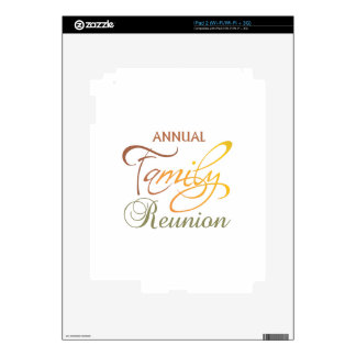 Annual Family Reunion iPad 2 Decals