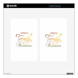 Annual Family Reunion Skin For Kindle Fire