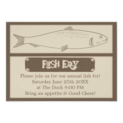Retro Fish Fry Vintage Fish Food Wood Texture Art Card | Zazzle