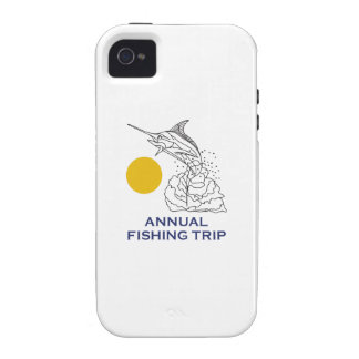 ANNUAL FISHING TRIP Case-Mate iPhone 4 CASES
