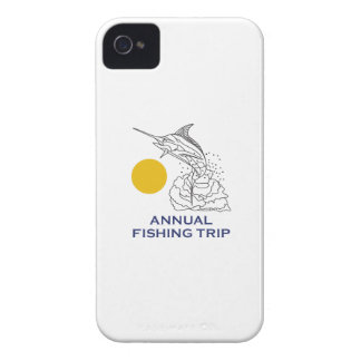 ANNUAL FISHING TRIP iPhone 4 CASE