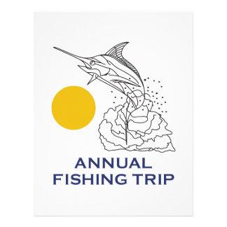 ANNUAL FISHING TRIP LETTERHEAD