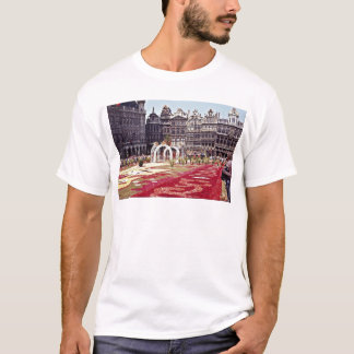 Annual Flower Festival at La Grande Place, Brussel T-Shirt