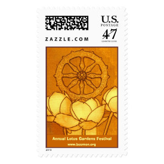 Annual Lotus Gardens Festival Postage