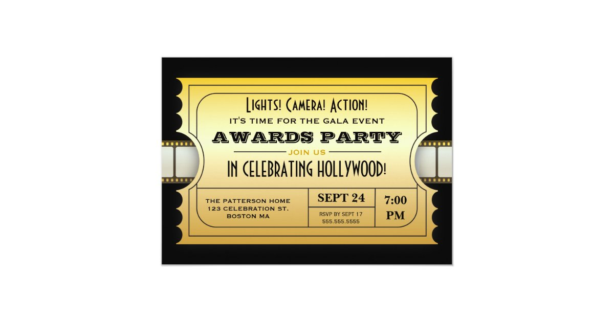 Admission Ticket Invitations & Announcements   Zazzle