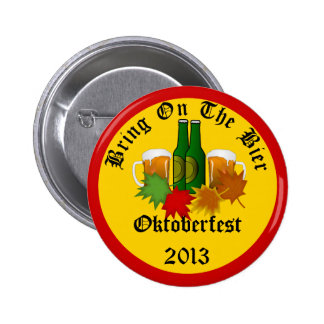 Annual Oktoberfest Bring on the Bier Button