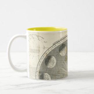 Annual revolution of the Earth Two-Tone Mug