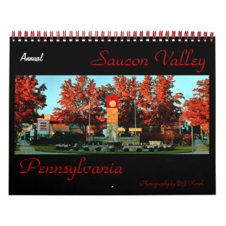 Annual Saucon Valley PA Calendar