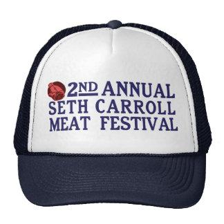 Annual Seth Carroll Meat Festival Cap Trucker Hat