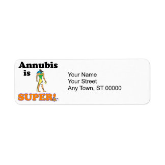 annubis is super label