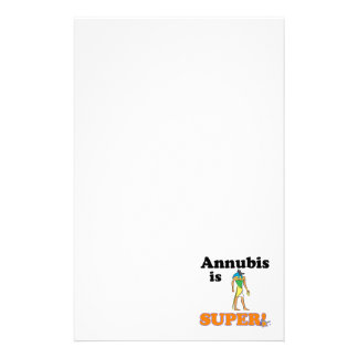 annubis is super stationery