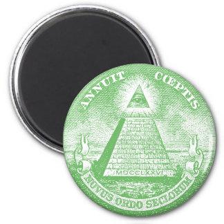 Annuit Coeptis 2 Inch Round Magnet