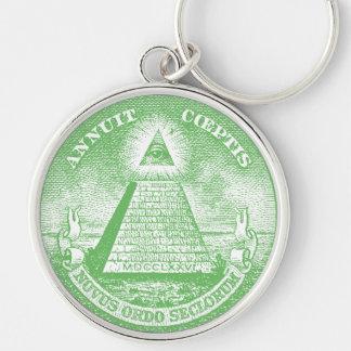 Annuit Coeptis Keychain