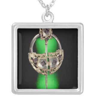 Annular brooch, Ardagh Hoard, Reerasta Silver Plated Necklace