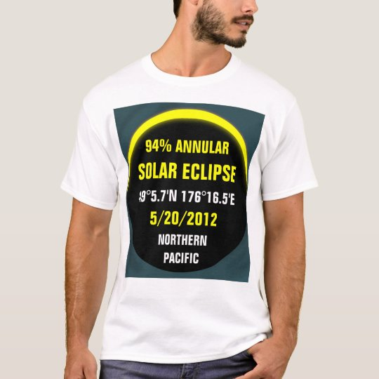 Annular Eclipse 5/20/2012 T-Shirt