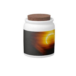 Annular Eclipse Candy Dish
