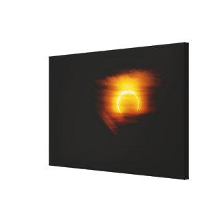 Annular Eclipse Gallery Wrap Canvas