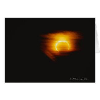 Annular Eclipse Greeting Card