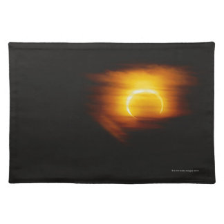 Annular Eclipse Cloth Placemat